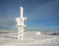 Weather station, Aonach Mor