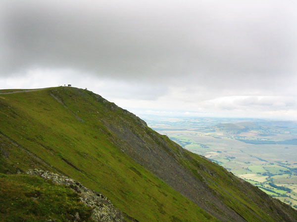 Blencathra, with Hall's Fell Ridge, on the Bob Graham Round