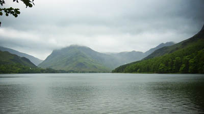 Buttermere, with Fleetwith Pike, centre left
