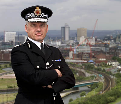 Greater Manchester Police Chief Constable Michael Todd