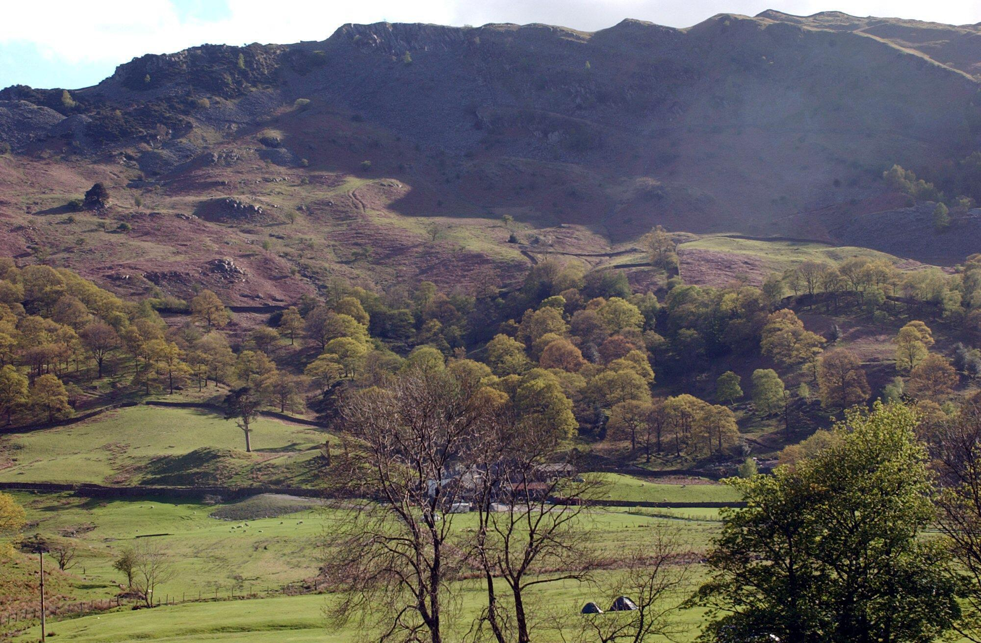 The Langdale scene, taken by police surveillance officer