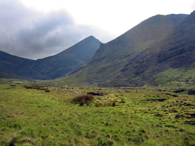 Carraountoohil, last of the four mountains on the itinerary