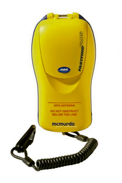 A personal locator beacon made by McMurdo