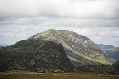 High Crag, with Haystacks in the foreground and Red Pike in the distance