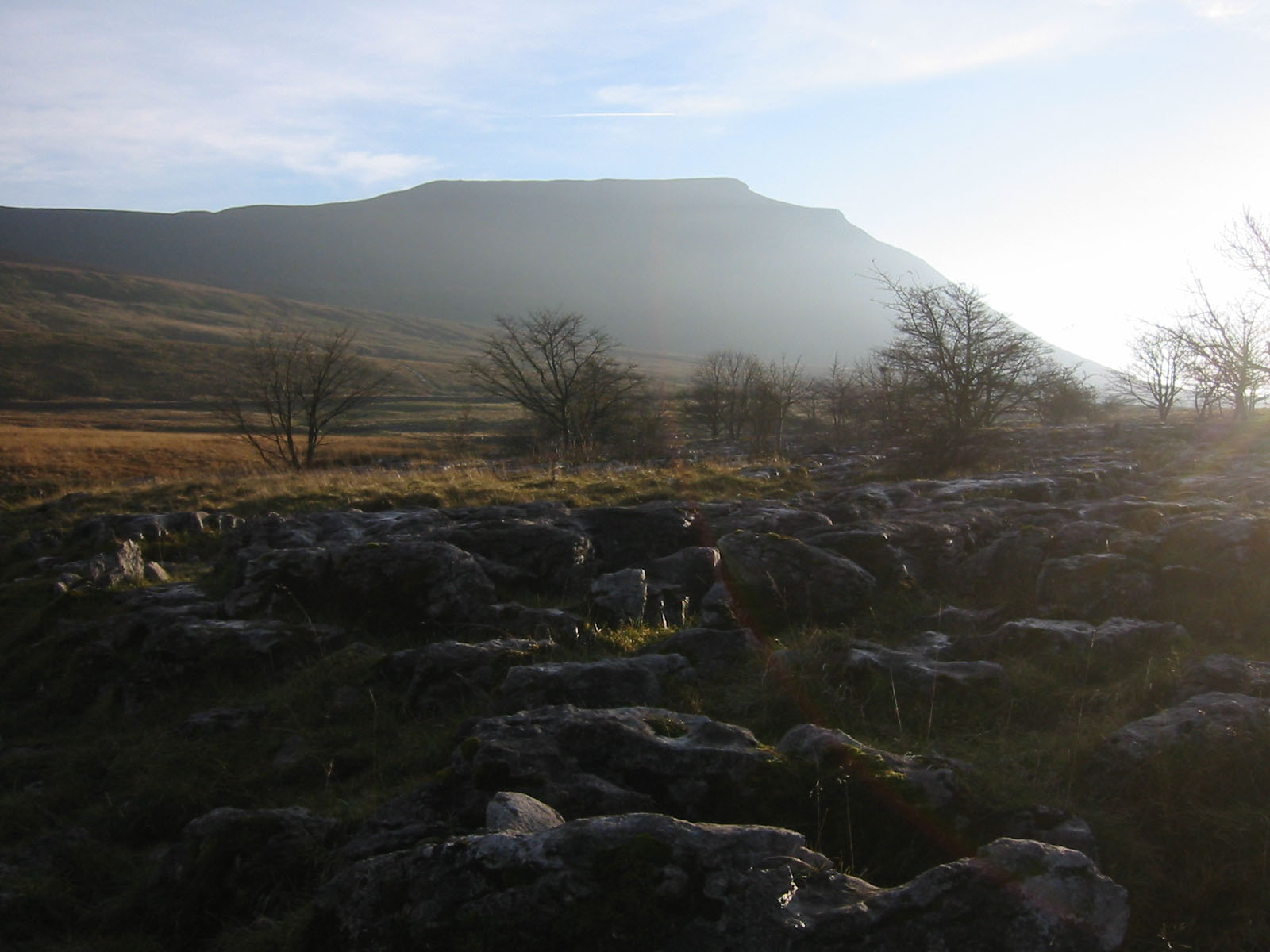 Ingleborough, Yorkshires cousin to Table Mountain