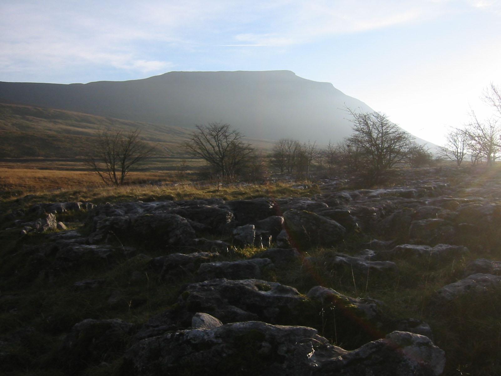 Ingleborough, Yorkshires cousin to Table Mountain