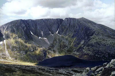 Lochnagar's north face