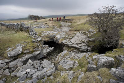 The entrance to Long Churn Cave