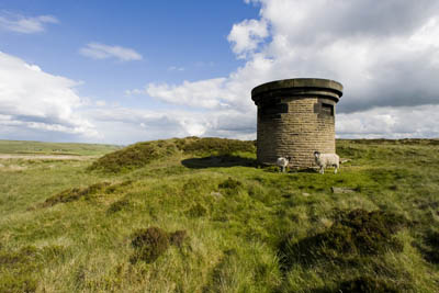 The first air shaft near Dimmin Dale