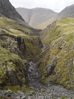 Piers Gill: no-go area for walkers