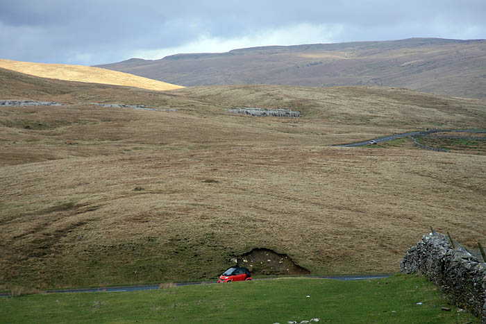 On the route: wild Pennine scenery