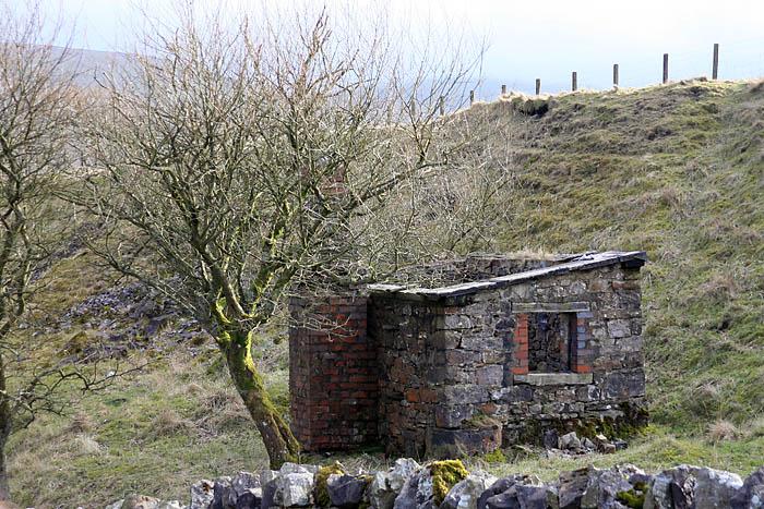 The derelict platelayers' hut