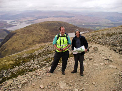 Rob the Rubbish on Ben Nevis
