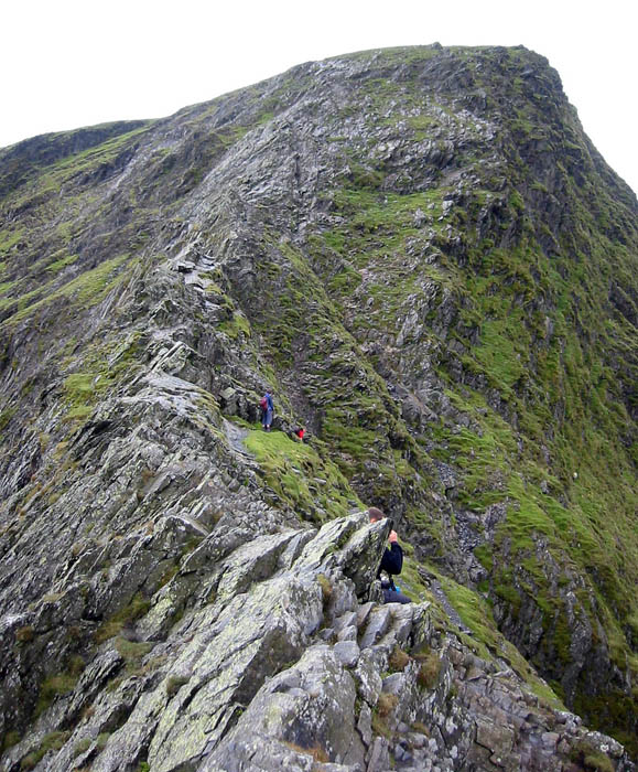 Sharp Edge on Blencathra
