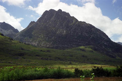 The climbers were helped to safety after getting stuck on Tryfan