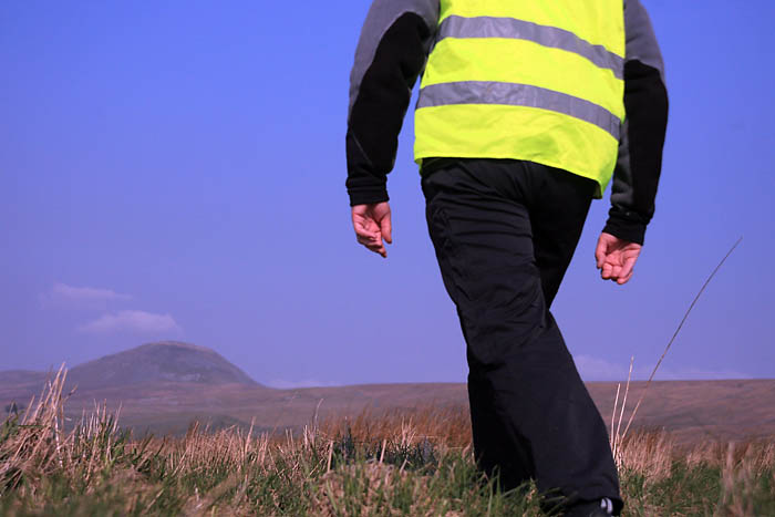 The future of right-to-roam walking? High visibility in the Yorkshire Dales