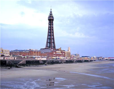 Blackpool and its more famous tower