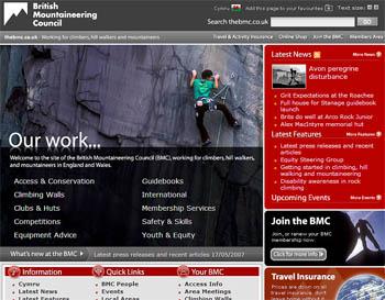 The new-look BMC website