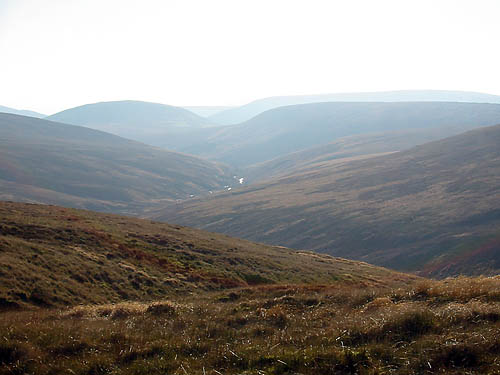 Bowland in Lancashire: the RSPB has been working with land managers