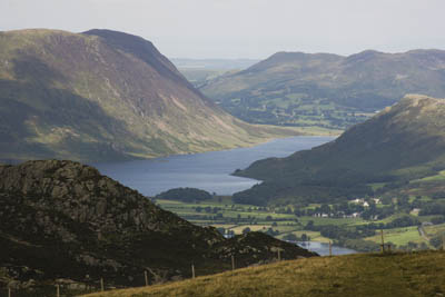Buttermere, scene of the first incident