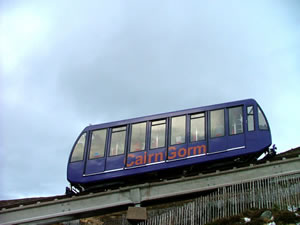 The Cairn Gorm funicular railway