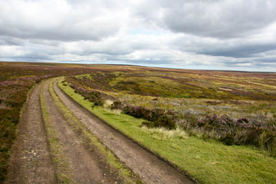 The route follows the old trackbed of the Rosedale Ironstone Railway