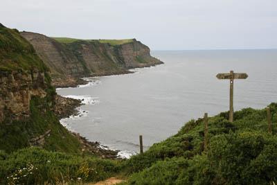 Maw Wyke Hole on the Yorkshire coast