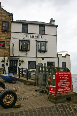 The Bay Hotel: end of the road