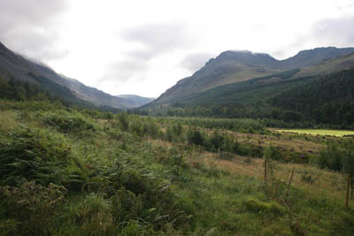 Ennerdale, with Pillar dominating on the right