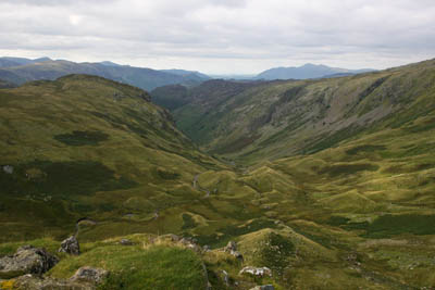 Looking north down Greenup Gill