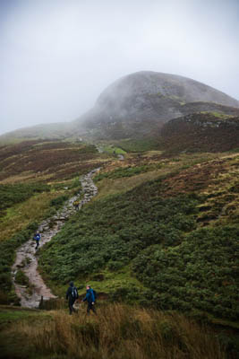 Conic Hill: two walkers led to safety