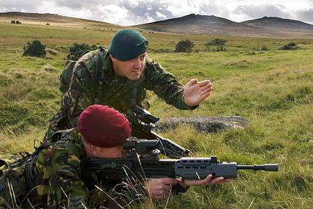 Military training on Dartmoor. Photo: Chris Hargreaves, MoD