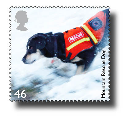 The Royal Mail stamp featuring Merrick