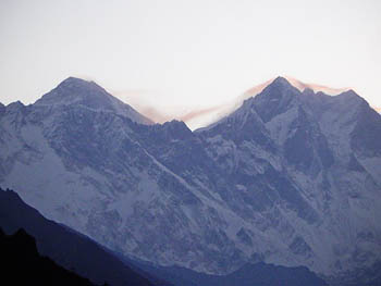 Everest's southern aspect from Nepal