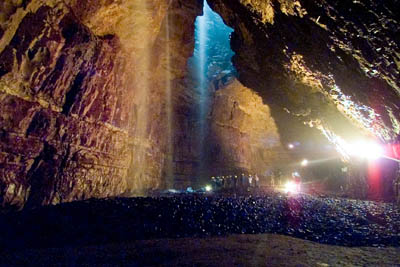 The main chamber of Gaping Gill