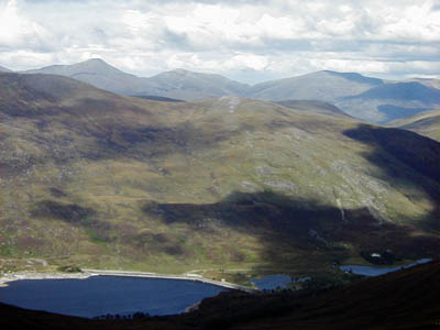 Glen Affric, site of the munro attempt