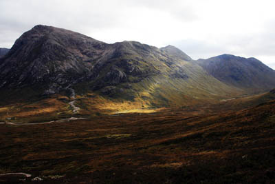Buachaille Etive Mòr will feature in the film