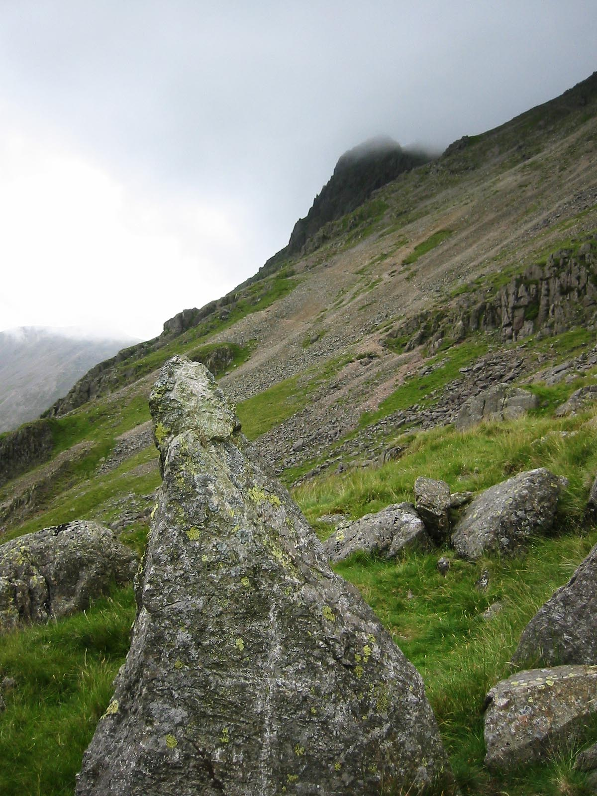 Great Gable, the Climbers' Traverse