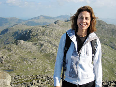 Julia Bradbury will speak at the festival