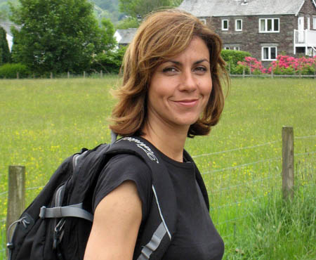Julia Bradbury will hit the Cairngorms to look at Heather Mornings work