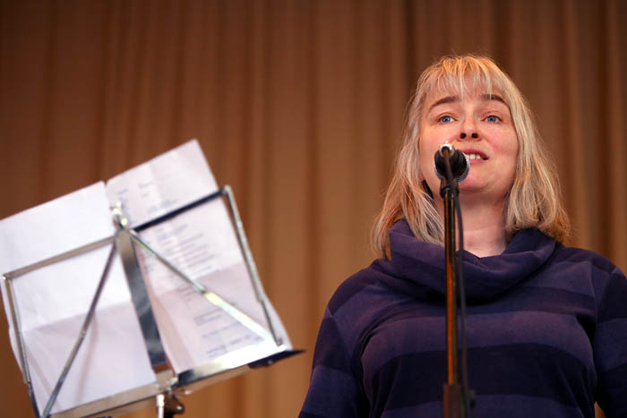 Sally Goldsmith sings Trespassers Will Be Celebrated