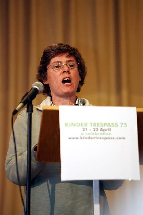 Ramblers' Association chair Kate Ashbrook