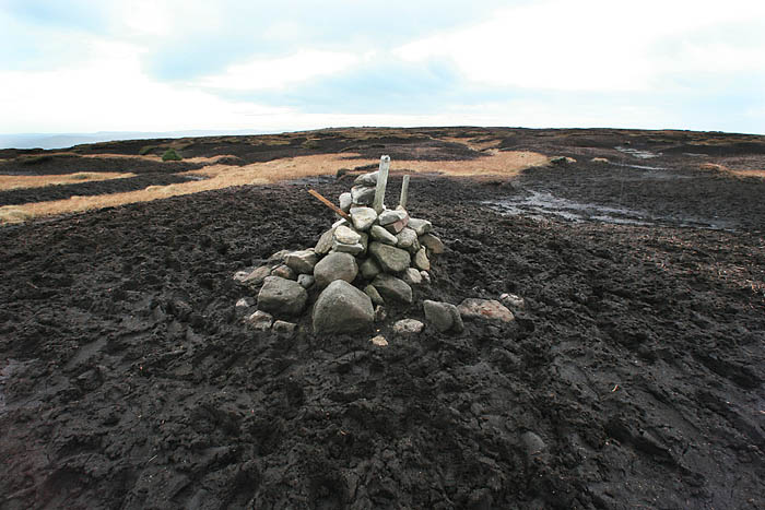Kinder Scout summit: out of bounds