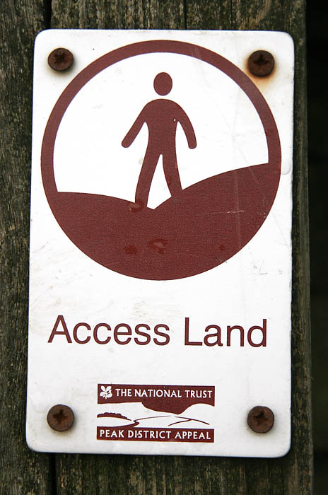 Kinder Scout is now access land under the Countryside and Rights of Way Act