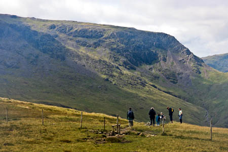 Lake District walkers have been warned to take plenty of water and food as fell top teperatures rise