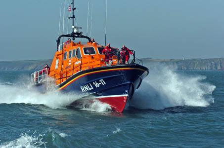 An RNLI lifeboat. Photo: RNLI/Martin Cavaney Photography Ltd