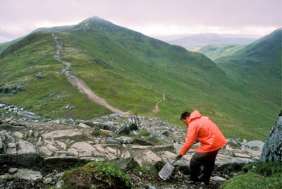 NTS workers on Ben Lawers