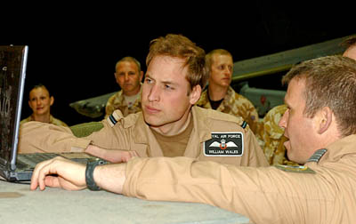 Prince William joined the RAFs search and rescue team