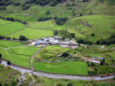 Seathwaite: unable to cope with numbers of challengers
