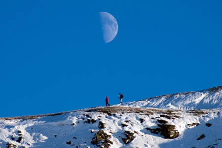 Winter walkers need to prepare for the hills